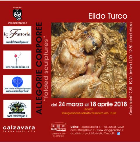"Elido Turco – ""Allegorie Corporee"""
